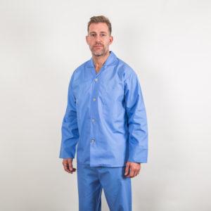 Amalfi 100% cotton pyjamas - blue