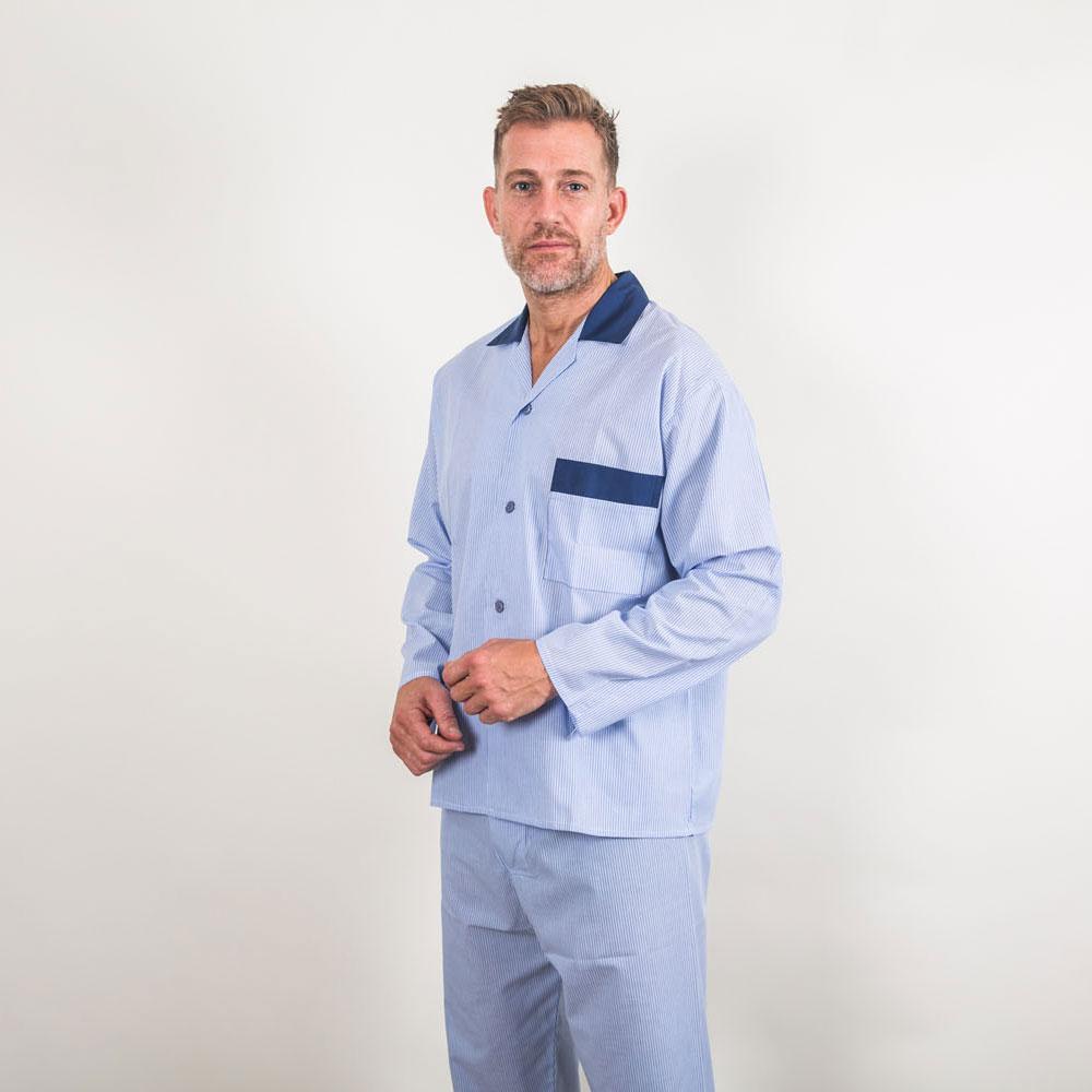 top brands cheap prices footwear Lightweight Stripe Poly/Cotton Pyjamas